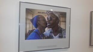 Uma das fotografias de Frédéric Noy que trabalhou sobre a homossexualidade em África
