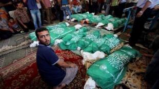 Número de mortos palestinianos já ultrapassou meio milhar