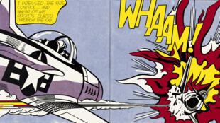 """O célebre quadro """"Whaam!"""", realizado por Roy Lichtenstein em 1963, entrou para a coleção da Tate Gallery três anos depois."""