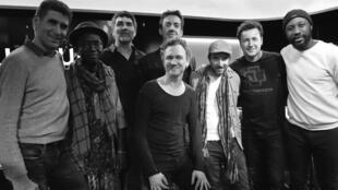 Hamon Martin Quintet et Edgar Sekloka invités de Laurence Aloir.
