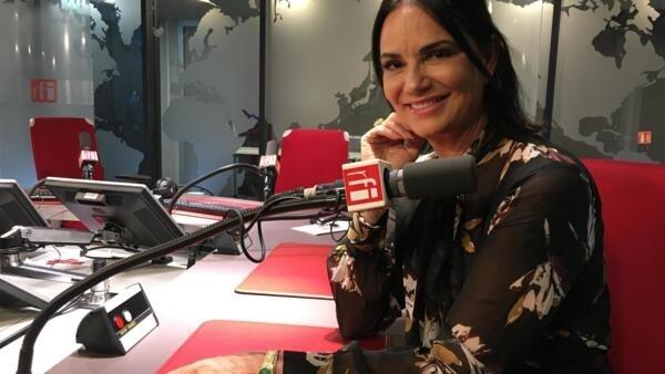 A modelo e atriz Luíza Brunet
