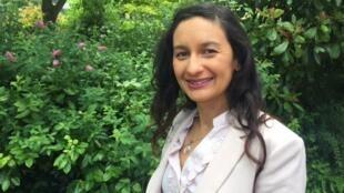 A naturopata e enfermeira brasileira Rafaela Tillier, radicada em Paris.
