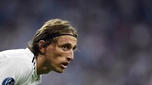Luka Modric, médio croata do Real Madrid.