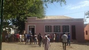 Escola primária na Cidade da Praia.