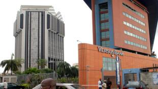 Siège de la BCEAO, Banque centrale des Etat d'Afrique de l'Ouest à Abidjan (archive 2007).