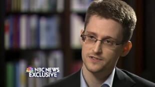 O ex-analista informático norte-americano Edward Snowden, em uma entrevista à rede NBC News. 28 de maio de 2014.