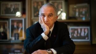 Alain Terzian, le président déchu de l'académie des César.