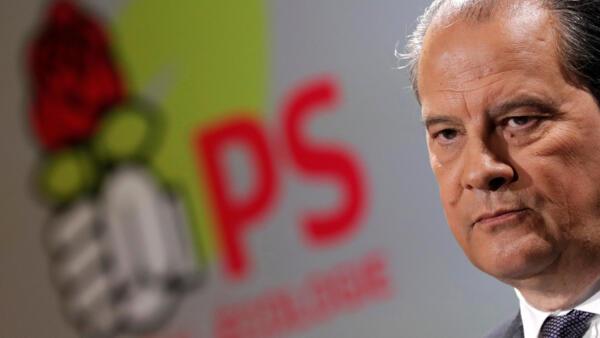 O primeiro-secretário do Partido Socialista francês, Jean-Christophe Cambadélis.