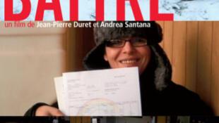 """Cartaz do documentário """"Se Battre"""", de Jean-Pierre Duret e Andréa Santana."""