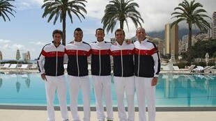 Сборная Франции по теннису, Рокебрюн Кап-Мартен, 5 апреля 2012 года