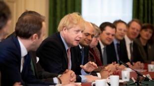 Thủ tướng Anh Boris Johnson chuẩn bị thành lập nội các mới. Ảnh ngày 17/12/2019