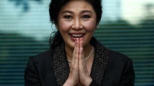 Yingluck Shinawatra, le 1er août 2017 à la Cour suprême de Bangkok.