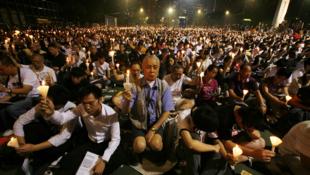 Hong Kong est le seul endroit de Chine où le massacre de Tiananmen est commémoré ouvertement et légalement.