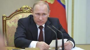 O presidente russo Vladimir Putin está de olho na reeleição em 2018.