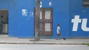 Criança em Inhambane, Moçambique