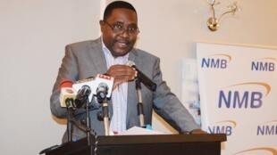 坦桑尼亚达累斯萨拉姆区执行秘书长昆恩哲资料图片