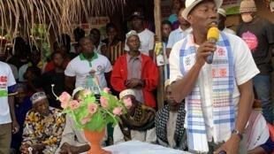 Domingos Simoes Pereira, candidat à la présidence en Guinée-Bissau.