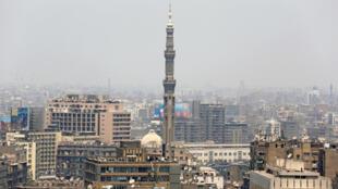 Une mosquée du centre-ville du Caire, en Egypte.