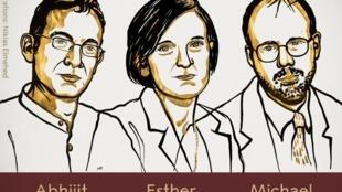 Esther Duflo, Abhijit Banerjee e Michael Kremer vencem o Nobel de Economia