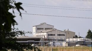 French pharma giant Sanofi's plant in Mourenx, southwestern France.