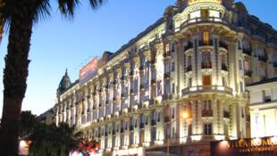 Carlton hotel in Cannes