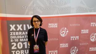 Monika Frackowiak, une juge bien déterminée à défendre son indépendance.