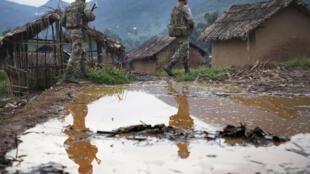 Wanajeshi wa Monusco wakiwa kwenye doria Mashariki mwa DRC