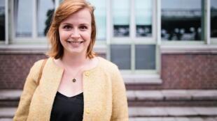 德國議會最年輕的女議員Gyde Jensen,同時是德國聯邦議會人權委員會主席。