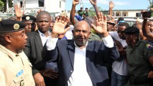 Azali Assoumani (ici en mai 2016), président des Comores.