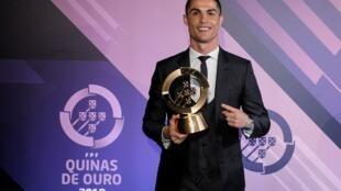 Cristiano Ronaldo, avançado da Selecção Portuguesa.