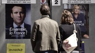 Dentro de uma semana, os eleitores franceses escolhem entre Macron e Le Pen.