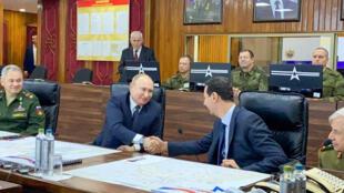 Пресс-секретарь президента РФ отметил, что«сирийский президент»«тепло поздравил Путина и весь российский народ с праздником Рождества».