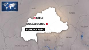 Toeni, onde ocorreu o ataque, fica perto da fronteira com o Mali.