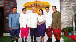 Délégation des cerf volistes du Cambodge