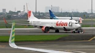 Un avion de la compagnie indonésienne à Lion Air à l'aéroport de Tangerang dans la banlieue de Jakarta (image d'illustration).