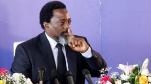 Joseph Kabila, presidente que deixa o cargo na República Democrática do Congo.