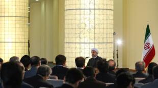 حسن روحانی، رئيس جمهوری اسلامی ایران