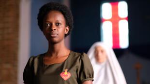 Amanda Mugabekazi dans « Notre-Dame du Nil », film réalisé par Atiq Rahimi, d'après le roman de Scholastique Mukasonga.