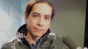 José Fernando Muñoz en los estudios de RFI