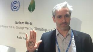 Oтветственный по кампании «В защиту климата» организации Greenpeace Патрик Бонан.