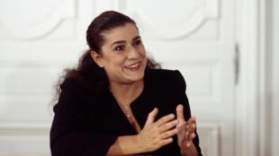 La mezzo-soprano italienne Cecilia Bartoli.