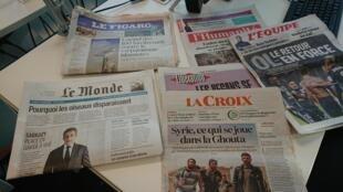 Diários franceses 20.03.2018