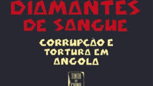 "Capa do livro do jornalista e activista angolano, Rafael Marques, ""Diamantes de sangue"""