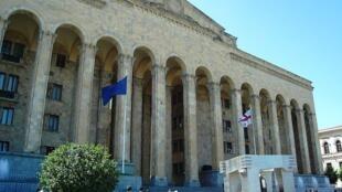 Le Parlement de la Géorgie.