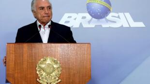 Presidente brasileiro Michel Temer autorizou uso do exército em Roraima.