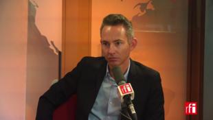Ian Brossat, chef de file de la liste du PCF pour les élections européennes