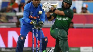 Le match de la coupe du Monde de cricket à Old Trafford à Manchester le 16 juin 2019 entre le Pakistan et l'Inde s'est soldé par une victoire de ces derniers,