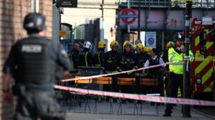 Explosão metrô de Londres (15/09/17).