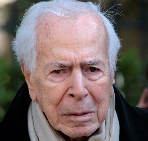 El periodista Jean Daniel, el 10 de abril de 2014 en París