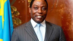 Henri Mova, secrétaire général du Parti du peuple pour la reconstruction et la démocratie (PPRD).
